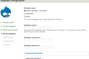 Installer Drupal7